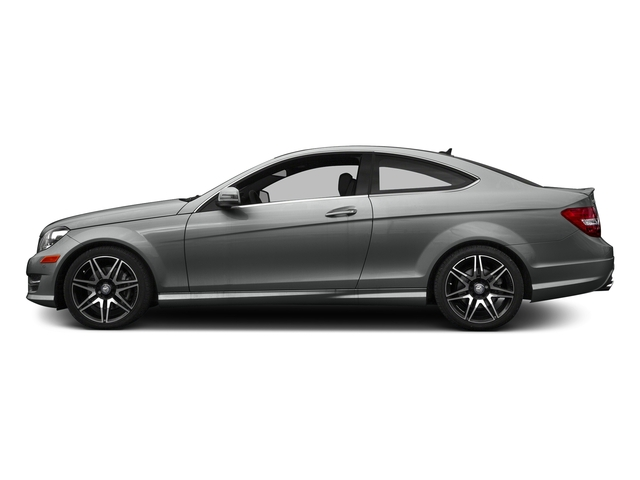 Palladium Silver Metallic 2015 Mercedes-Benz C-Class Pictures C-Class Coupe 2D C350 V6 photos side view