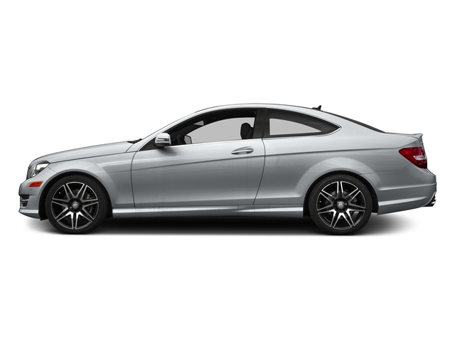 Diamond Silver Metallic 2015 Mercedes-Benz C-Class Pictures C-Class Coupe 2D C350 V6 photos side view