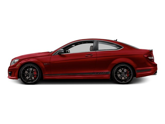 Mars Red 2015 Mercedes-Benz C-Class Pictures C-Class Coupe 2D C63 AMG V8 photos side view