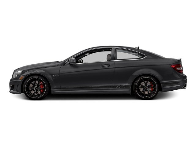 Steel Gray Metallic 2015 Mercedes-Benz C-Class Pictures C-Class Coupe 2D C63 AMG V8 photos side view