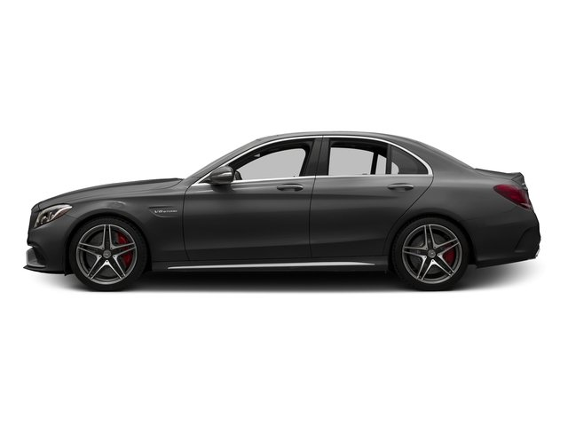 Steel Gray Metallic 2015 Mercedes-Benz C-Class Pictures C-Class Sedan 4D C63 AMG S V8 Turbo photos side view