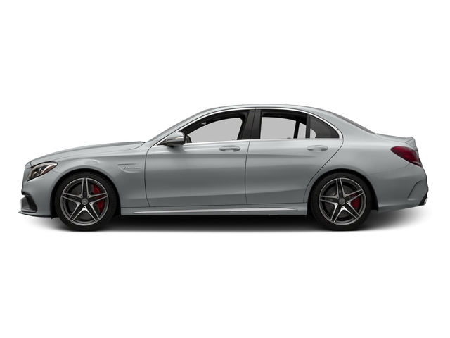 Iridium Silver Metallic 2015 Mercedes-Benz C-Class Pictures C-Class Sedan 4D C63 AMG S V8 Turbo photos side view