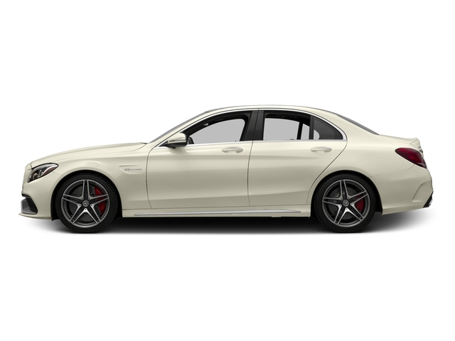 Diamond White Metallic 2015 Mercedes-Benz C-Class Pictures C-Class Sedan 4D C63 AMG S V8 Turbo photos side view