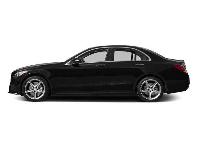 Obsidian Black Metallic 2015 Mercedes-Benz C-Class Pictures C-Class Sedan 4D C400 AWD V6 Turbo photos side view