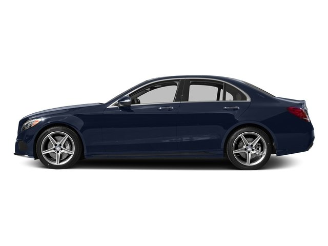 Lunar Blue Metallic 2015 Mercedes-Benz C-Class Pictures C-Class Sedan 4D C400 AWD V6 Turbo photos side view