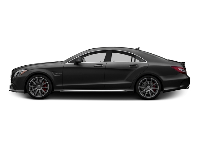 Obsidian Black Metallic 2015 Mercedes-Benz CLS-Class Pictures CLS-Class Sedan 4D CLS63 AMG S AWD V8 photos side view