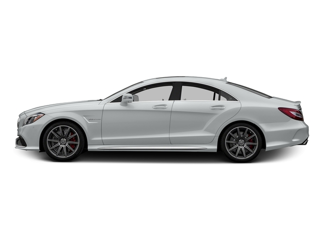 Iridium Silver Metallic 2015 Mercedes-Benz CLS-Class Pictures CLS-Class Sedan 4D CLS63 AMG S AWD V8 photos side view