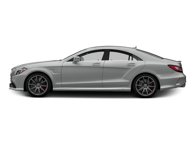 Palladium Silver Metallic 2015 Mercedes-Benz CLS-Class Pictures CLS-Class Sedan 4D CLS63 AMG S AWD V8 photos side view