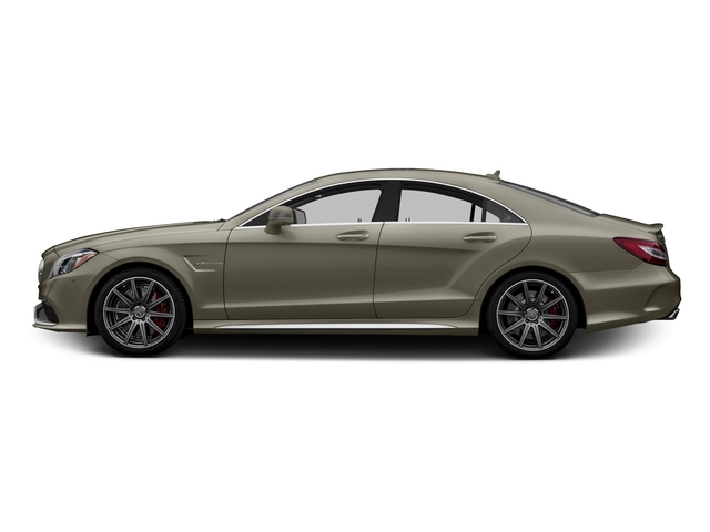 designo Magno Sintered Bronze (Matte) 2015 Mercedes-Benz CLS-Class Pictures CLS-Class Sedan 4D CLS63 AMG S AWD V8 photos side view