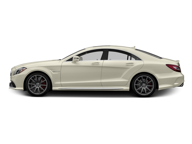 designo Diamond White Metallic 2015 Mercedes-Benz CLS-Class Pictures CLS-Class Sedan 4D CLS63 AMG S AWD V8 photos side view