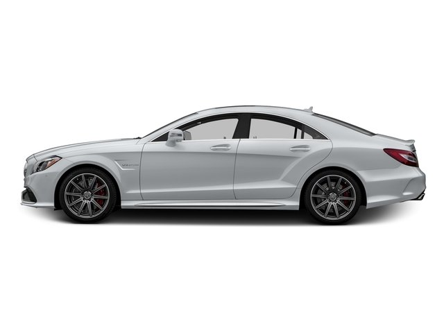 Diamond Silver Metallic 2015 Mercedes-Benz CLS-Class Pictures CLS-Class Sedan 4D CLS63 AMG S AWD V8 photos side view