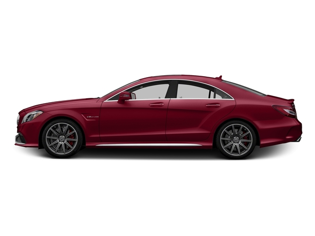 designo Cardinal Red Metallic 2015 Mercedes-Benz CLS-Class Pictures CLS-Class Sedan 4D CLS63 AMG S AWD V8 photos side view