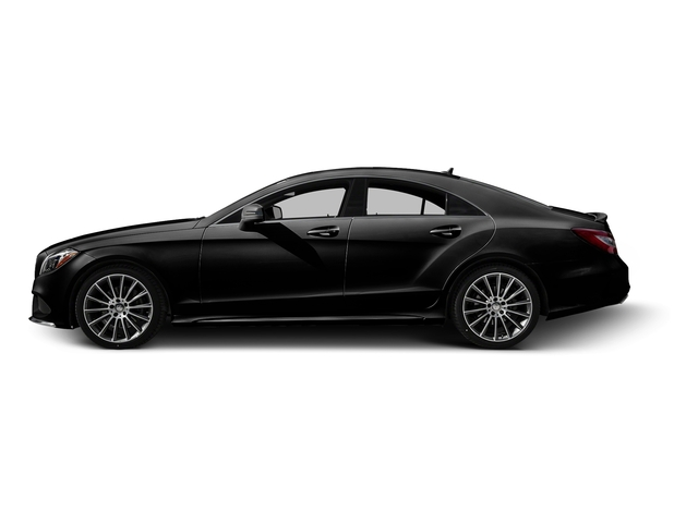 Obsidian Black Metallic 2015 Mercedes-Benz CLS-Class Pictures CLS-Class Sedan 4D CLS400 AWD V6 Turbo photos side view