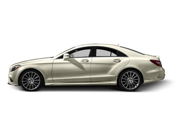 designo Diamond White Metallic 2015 Mercedes-Benz CLS-Class Pictures CLS-Class Sedan 4D CLS400 AWD V6 Turbo photos side view