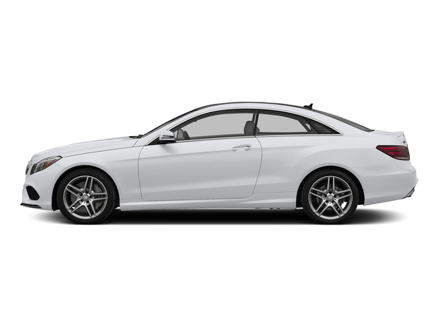 Polar White 2015 Mercedes-Benz E-Class Pictures E-Class Coupe 2D E550 V8 Turbo photos side view