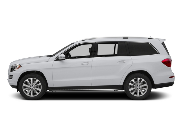 Polar White 2015 Mercedes-Benz GL-Class Pictures GL-Class Utility 4D GL450 4WD V6 photos side view
