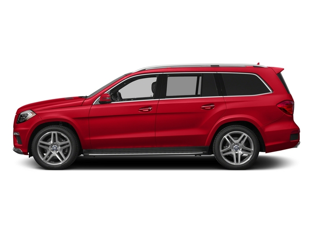 Cinnabar Red Metallic 2015 Mercedes-Benz GL-Class Pictures GL-Class Utility 4D GL550 4WD V8 photos side view