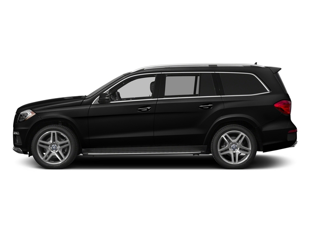 Obsidian Black Metallic 2015 Mercedes-Benz GL-Class Pictures GL-Class Utility 4D GL550 4WD V8 photos side view