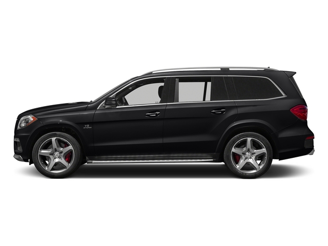 Black 2015 Mercedes-Benz GL-Class Pictures GL-Class Utility 4D GL63 AMG 4WD V8 photos side view