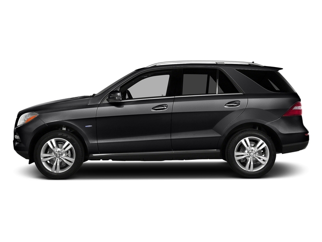 Black 2015 Mercedes-Benz M-Class Pictures M-Class Utility 4D ML350 2WD V6 photos side view