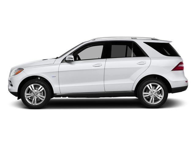 Polar White 2015 Mercedes-Benz M-Class Pictures M-Class Utility 4D ML350 2WD V6 photos side view