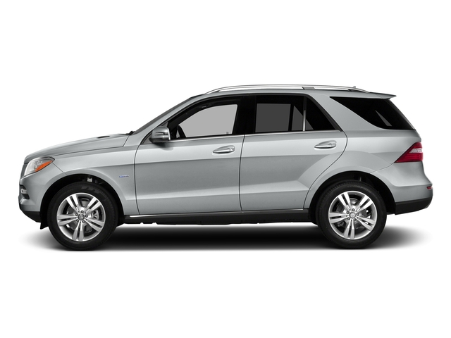 Iridium Silver Metallic 2015 Mercedes-Benz M-Class Pictures M-Class Utility 4D ML350 2WD V6 photos side view
