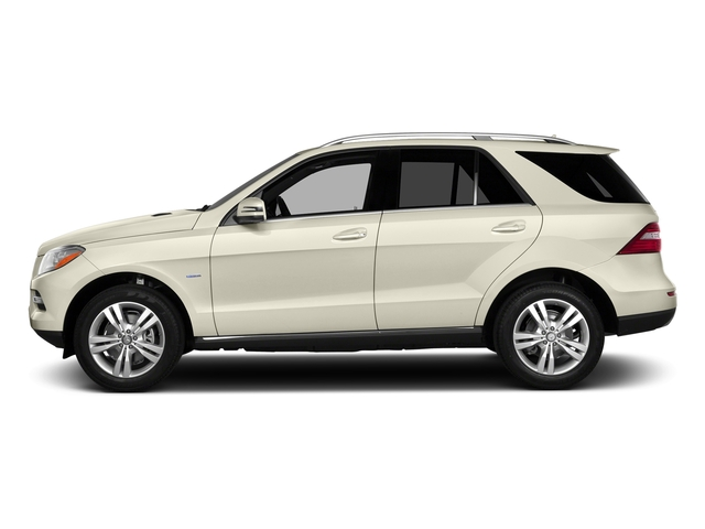 designo Diamond White Metallic 2015 Mercedes-Benz M-Class Pictures M-Class Utility 4D ML350 2WD V6 photos side view
