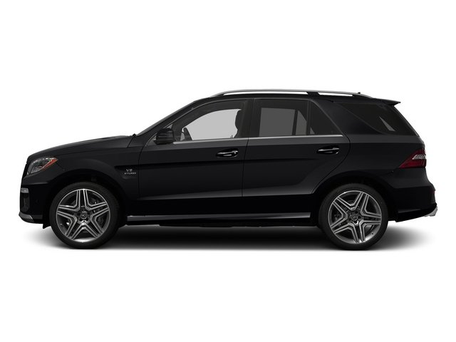 Black 2015 Mercedes-Benz M-Class Pictures M-Class Utility 4D ML63 AMG AWD V8 photos side view