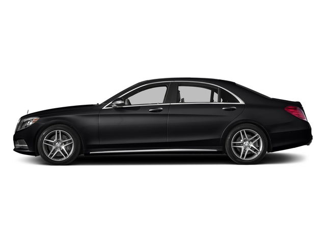 Black 2015 Mercedes-Benz S-Class Pictures S-Class Sedan 4D S550 AWD V8 photos side view