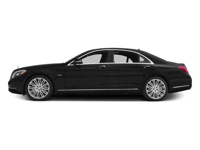 Obsidian Black Metallic 2015 Mercedes-Benz S-Class Pictures S-Class Sedan 4D S600 V12 photos side view