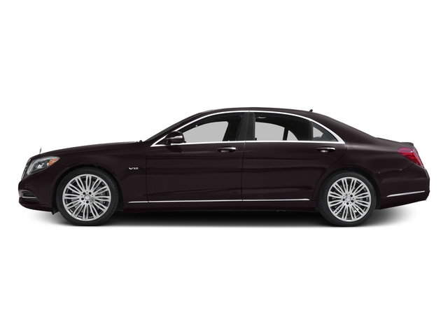 Ruby Black Metallic 2015 Mercedes-Benz S-Class Pictures S-Class Sedan 4D S600 V12 photos side view