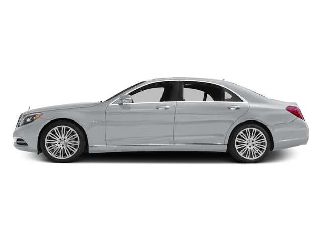 Diamond Silver Metallic 2015 Mercedes-Benz S-Class Pictures S-Class Sedan 4D S600 V12 photos side view