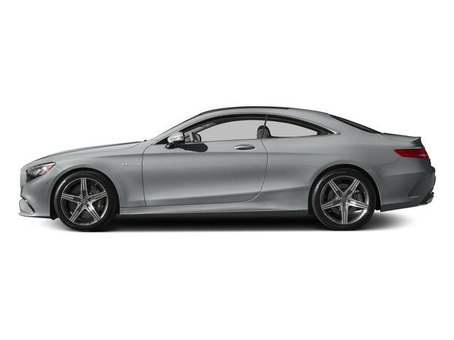 Iridium Silver Metallic 2015 Mercedes-Benz S-Class Pictures S-Class Coupe 2D S63 AMG AWD V8 Turbo photos side view