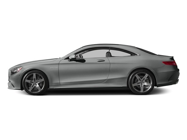 Palladium Silver Metallic 2015 Mercedes-Benz S-Class Pictures S-Class Coupe 2D S63 AMG AWD V8 Turbo photos side view