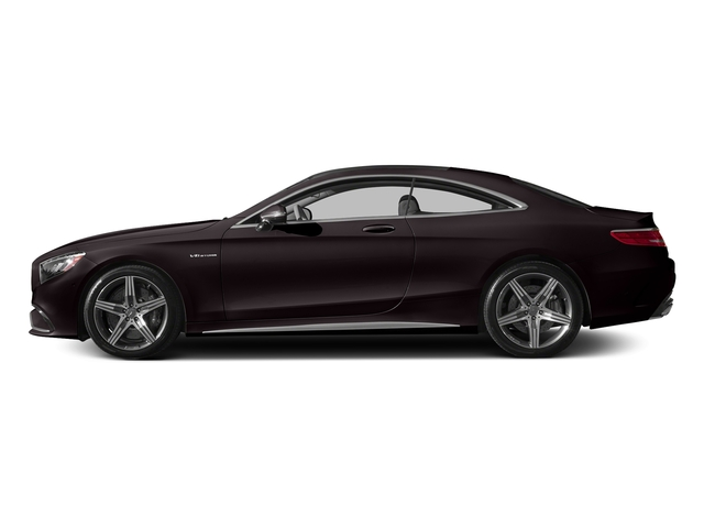 Ruby Black Metallic 2015 Mercedes-Benz S-Class Pictures S-Class Coupe 2D S63 AMG AWD V8 Turbo photos side view