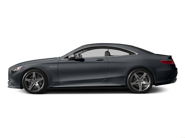 Anthracite Blue Metallic 2015 Mercedes-Benz S-Class Pictures S-Class Coupe 2D S63 AMG AWD V8 Turbo photos side view