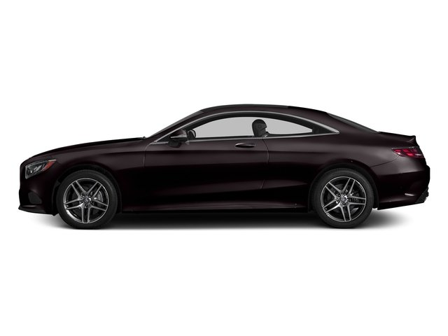 Ruby Black Metallic 2015 Mercedes-Benz S-Class Pictures S-Class Coupe 2D S550 AWD V8 Turbo photos side view