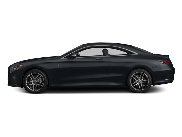Anthracite Blue Metallic 2015 Mercedes-Benz S-Class Pictures S-Class Coupe 2D S550 AWD V8 Turbo photos side view