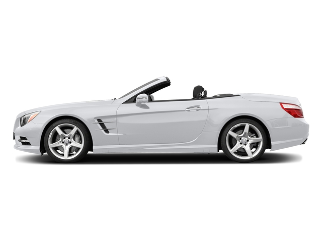 Polar White 2015 Mercedes-Benz SL-Class Pictures SL-Class Roadster 2D SL550 V8 Turbo photos side view