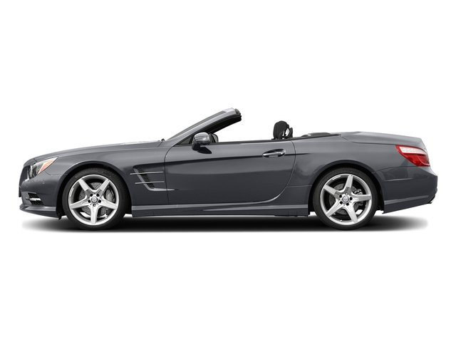Shadow Gray Matte 2015 Mercedes-Benz SL-Class Pictures SL-Class Roadster 2D SL550 V8 Turbo photos side view