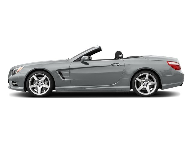 Iridium Silver Metallic 2015 Mercedes-Benz SL-Class Pictures SL-Class Roadster 2D SL550 V8 Turbo photos side view