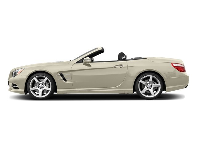 designo Diamond White Metallic 2015 Mercedes-Benz SL-Class Pictures SL-Class Roadster 2D SL550 V8 Turbo photos side view