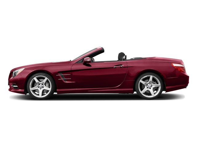 designo Cardinal Red Metallic 2015 Mercedes-Benz SL-Class Pictures SL-Class Roadster 2D SL550 V8 Turbo photos side view