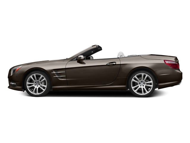 Dolomite Brown Metallic 2015 Mercedes-Benz SL-Class Pictures SL-Class Roadster 2D SL400 V6 Turbo photos side view