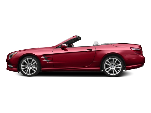 Mars Red 2015 Mercedes-Benz SL-Class Pictures SL-Class Roadster 2D SL400 V6 Turbo photos side view