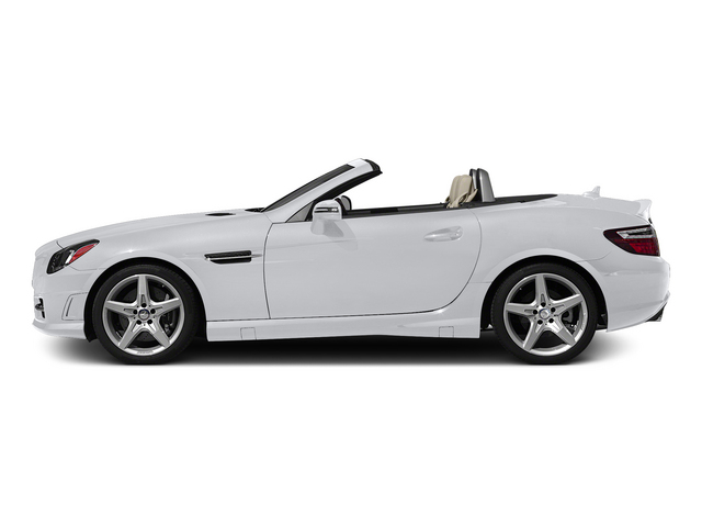 Polar White 2015 Mercedes-Benz SLK-Class Pictures SLK-Class Roadster 2D SLK250 I4 Turbo photos side view