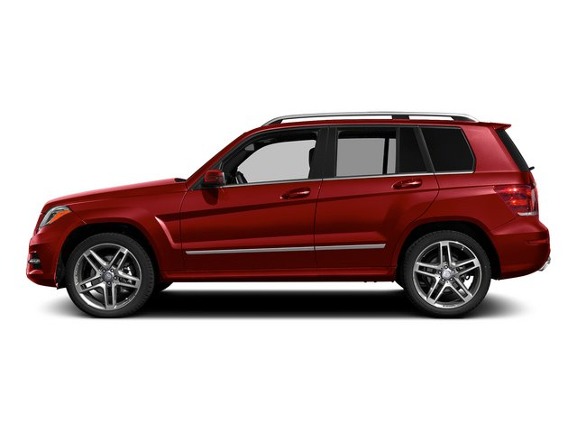 Mars Red 2015 Mercedes-Benz GLK-Class Pictures GLK-Class Utility 4D GLK250 BlueTEC AWD I4 photos side view