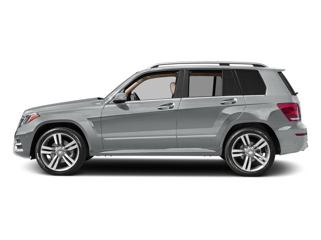 Iridium Silver Metallic 2015 Mercedes-Benz GLK-Class Pictures GLK-Class Utility 4D GLK350 AWD V6 photos side view