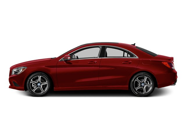 Jupiter Red 2015 Mercedes-Benz CLA-Class Pictures CLA-Class Sedan 4D CLA250 AWD I4 Turbo photos side view