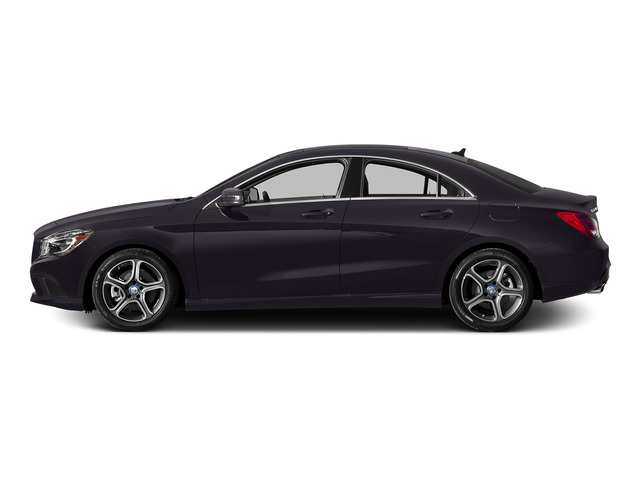 Northern Lights Violet Metallic 2015 Mercedes-Benz CLA-Class Pictures CLA-Class Sedan 4D CLA250 AWD I4 Turbo photos side view
